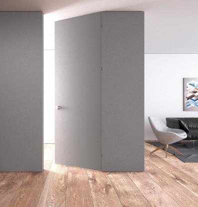 nowoczesne drzwi w salonie