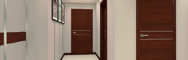 korytarz z drzwiami